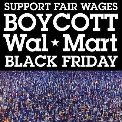 walmart black friday strike