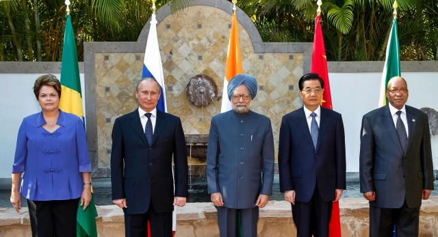 President Zuma meeting with BRICS in Mexico