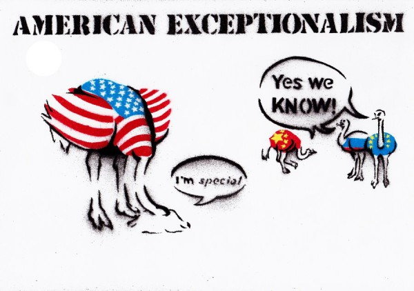 US Empire: American Exceptionalism Is No Shining City On A Hill