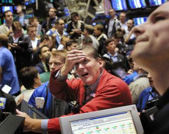 panicked trader