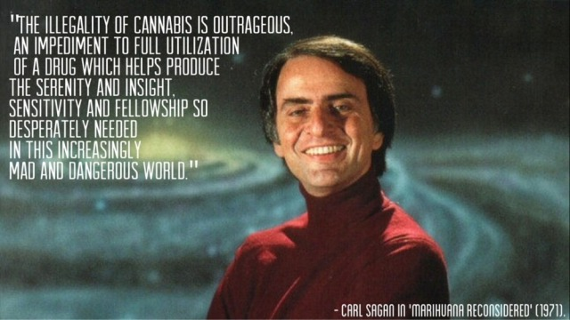 Carl Sagan's Thoughts On The War on Drugs | Desultory Heroics
