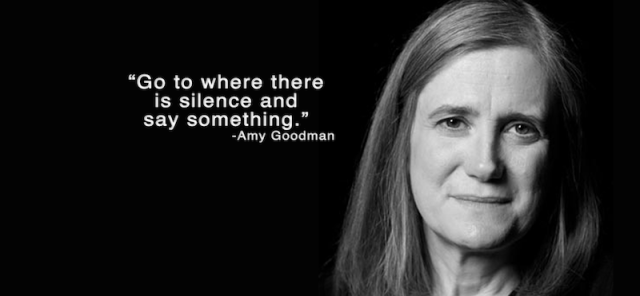 Amy Goodman Say Something for FB Promo